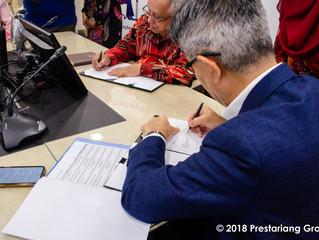 JobMatching PTPTN Program Implementation Signing