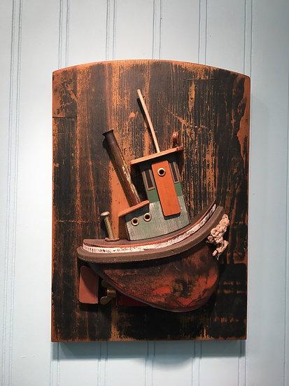 Wall hanging Steam tug