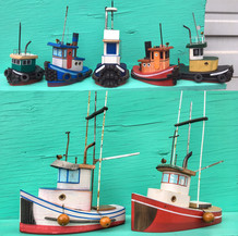 Working boats.