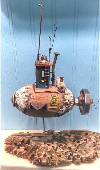 Fish float submarine