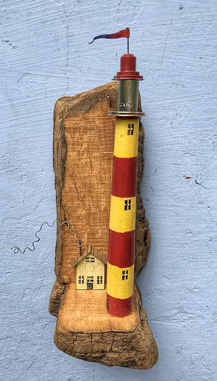 Wall hanging lighthouse