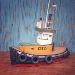 a #vancouver #cates #Classic #tugboat #reclaimedmaterials #tugboats #tugboat_lovers #nauticalart #na