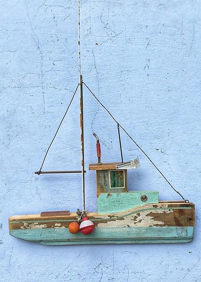 West coat fishing boat