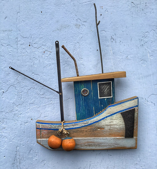Fishing Boat Wallhanging