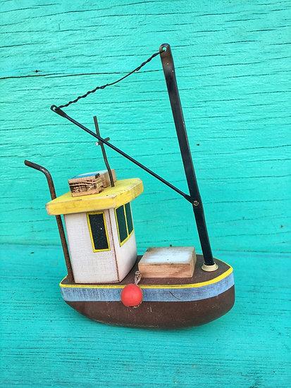 Mini fishing boat