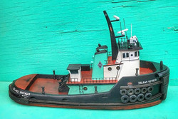 I'm very Happy with the result of this custom piece  #islandvoyager #islandtugandbarge #tugboats_dai