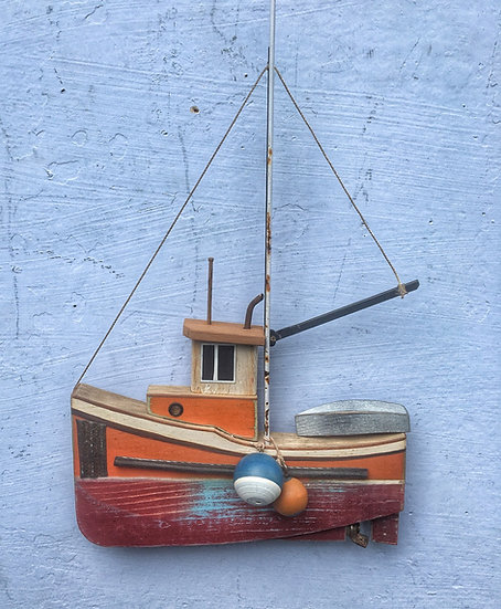 West coast fishing boat.