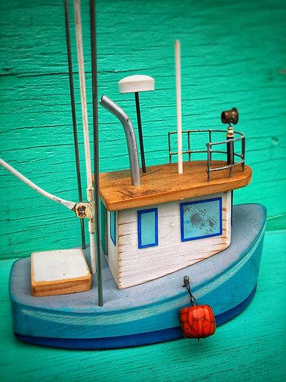 Medium size fishing boat