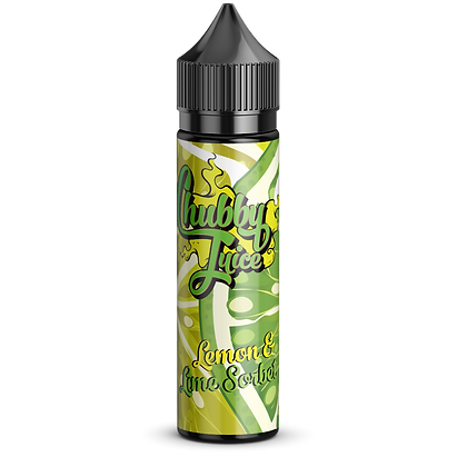 Chubby Juice- Lemon & lime sorbet Premium E-liquid