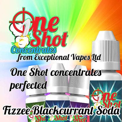 Fizzee Blackcurrant Soda one shot e-liquid flavour concentrate 30ml