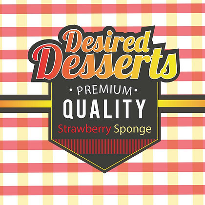 Exceptional Vapes Desired Desserts - Strawberry Sponge
