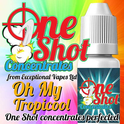 Oh My topicool one shot e-liquid flavour concentrate 30ml