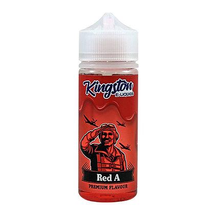 Red A - Kingston Premium E-liquid 100ml 0mg