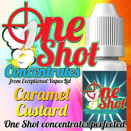 Caramel custard one shot e-liquid flavour concentrate 30ml