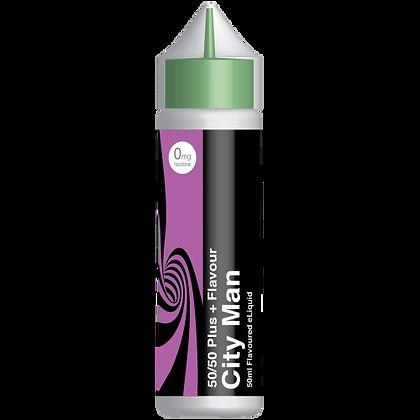 City Vape E-liquid 50ml 50/50 Shortfill -  City Man