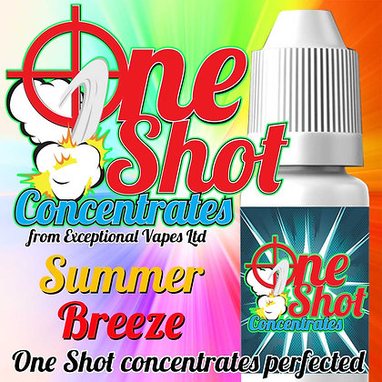 Summer breeze one shot e-liquid flavour concentrate 30ml