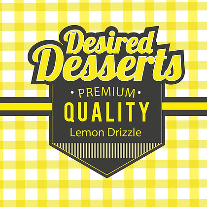 Exceptional Vapes Desired Desserts - Lemon Drizzle Cake