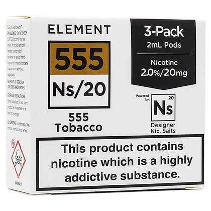 Element NS20 Series - 555 Tobacco Pods