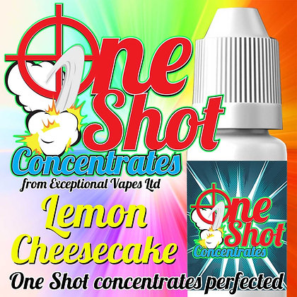 Lemon Cheesecake one shot e-liquid flavour concentrate 30ml