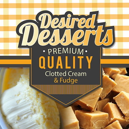 Exceptional Vapes Desired Desserts - Clotted Cream & Fudge
