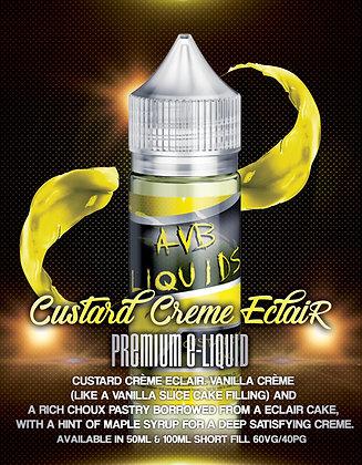 AVB Liquids - Custard crème eclair  50ml