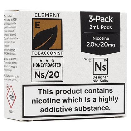 Element NS20 Series - Honey Roast Tobacco Pods