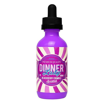 Dinner Lady Premium E-liquid 50ml - Blackberry Crumble