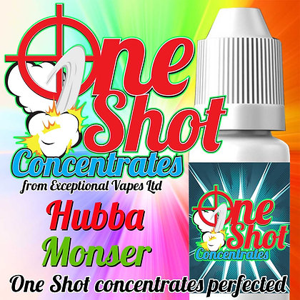 Hubba Monster one shot e-liquid flavour concentrate 30ml