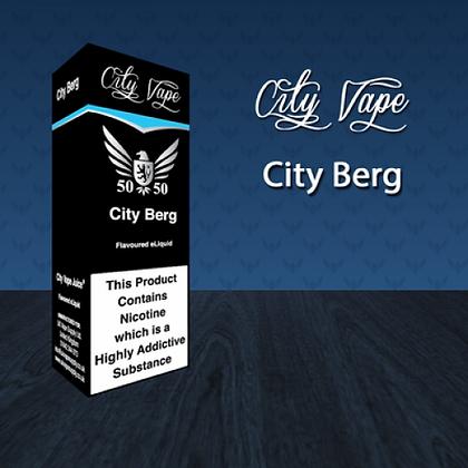City Vape E-liquid 10ml 50/50 - City Berg