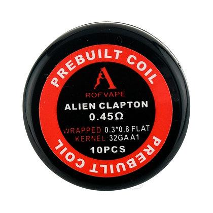 Rofvape Prebuilt Alien Clapton Coils 0.45 x 10 coils