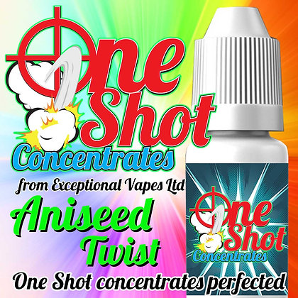 Aniseed Twist one shot e-liquid flavour concentrate 30ml