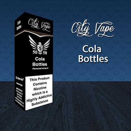 City Vape E-liquid 10ml 50/50 - Cola Bottles