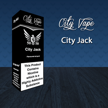 City Vape E-liquid 10ml 50/50 - City Jack