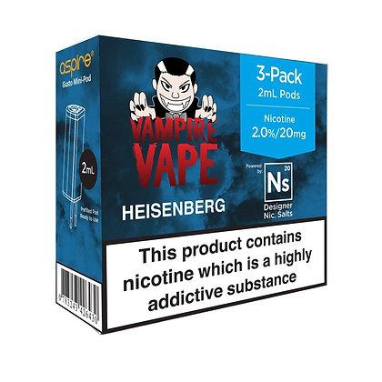 NS pods - Vampire Vape Heisenberg