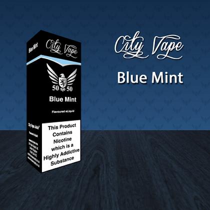 City Vape E-liquid 10ml 50/50 - Blue Mint