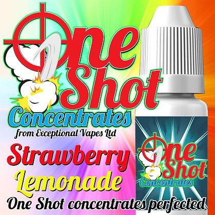Strawberry lemonade one shot e-liquid flavour concentrate 30ml