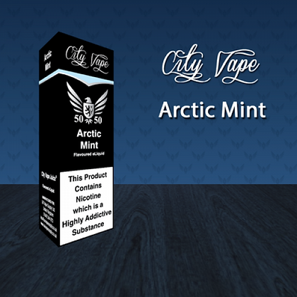 City Vape E-liquid 10ml 50/50 - Arctic mint