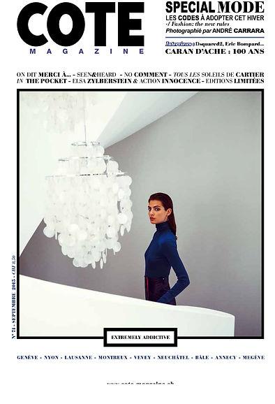 Cote magazine Septembre 2015.jpg