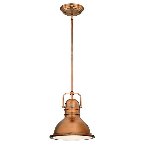 Westinghouse - Washed Copper Finish Boswell Pendant