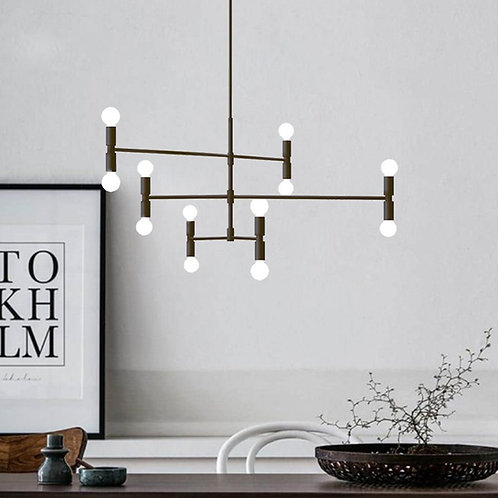 Modern Pendant / Ceiling Chandelier Hanging - 12 Lights