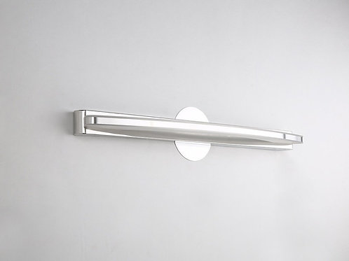Lithonia 15W Modern LED Vanity Light, Stainless Steel and Acrylic