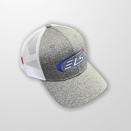 ELS Canada | Pearl White Adjustable Trucker Hat
