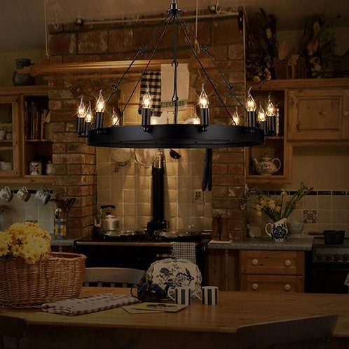 Elk Lighting - 31821/12 - Lewisburg - Twelve Light Chandelier