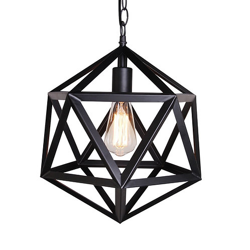 UNITARY - Vintage Barn Metal Pendant Light Max 60W Painted Finish