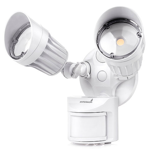 LED Security Light, 20W (100W Equivalent), 1800lm, 5000K (Crystal White Glow)