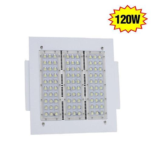 120W LED Gas Station Canopy Fixture IP65 Retrofit Warehouse High Bay