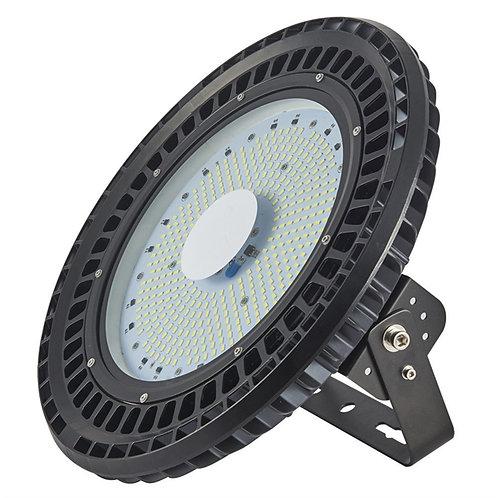 200W UFO LED High Bay Lighting, 24000LM, Daylight White(6000-6500K), Commercial