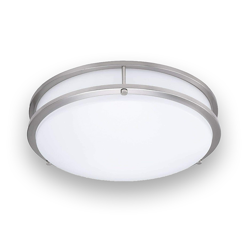 "CNC - 14"" 3CCT ( Colour changing) LED Flush Mount Ceiling Light,18W / 1260lm"
