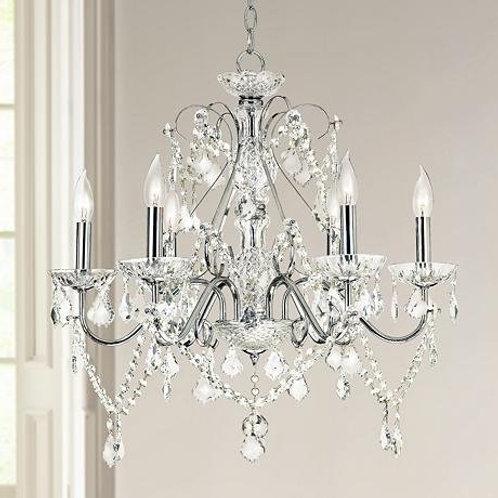 Crystorama Lighting - 1005 - Traditional Crystal - 6 Light Chandelier