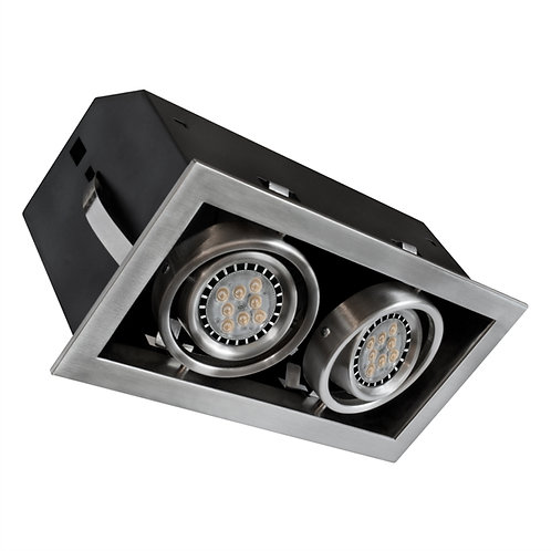 Bazz - Standard Cube recessed twin down light